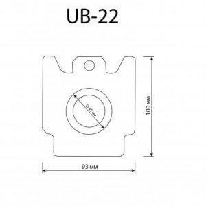 Торбички за прахосмукачки UB 22